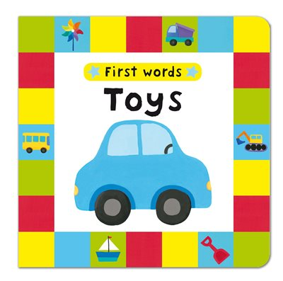 Book cover for First Words: Toys
